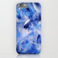 Blue Plumes iPhone 6 Slim Case