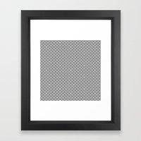 hiding sloth croching sloth Framed Art Print