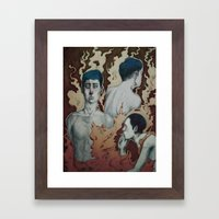 Dissociative Identity Disorder  Framed Art Print