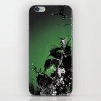 GREEN BASS iPhone & iPod Skin