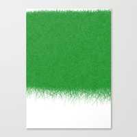 Greener Grass Canvas Print