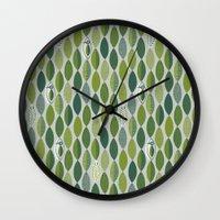 Woodland Woodpecker Wall Clock