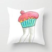 Muffin Tops  Throw Pillow