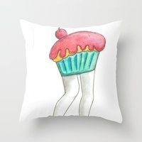 Muffin Tops  Throw Pillow