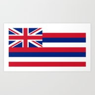 The State Flag Of Hawaii… Art Print