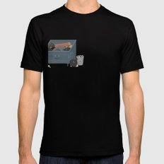BandNames : Garbage SMALL Black Mens Fitted Tee