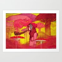 Chillout Art Print