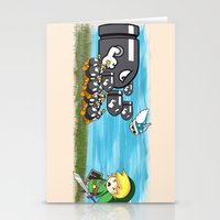 Link Boom Stationery Cards