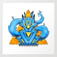 An Animal Named Spirit Art Print