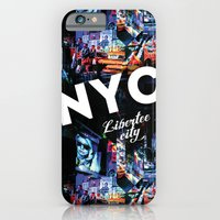 NEW-YORK (LIBERTEE CITY) iPhone 6 Slim Case