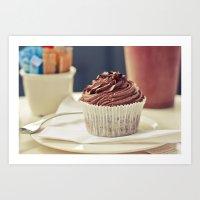 De chocolate Art Print