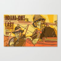 last crusade Canvas Print