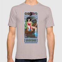 Crysta Nouveau - Fern Gully Mens Fitted Tee Cinder SMALL