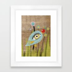 I am going to eat you up  Framed Art Print