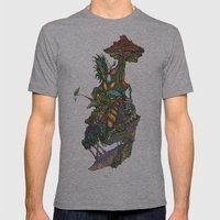 ARTIFICIAL PARADICES Mens Fitted Tee Athletic Grey SMALL