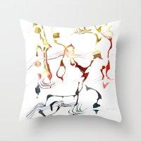 Jazzy Melody Throw Pillow