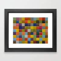 Color Collage 108 Framed Art Print