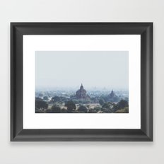Bagan I Framed Art Print