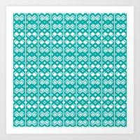 PatternPlay Series - v20 Art Print