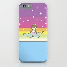 Admiral Whiskers Magical Narwhal Ride Slim Case iPhone 6s