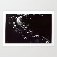 lights over 18 Art Print