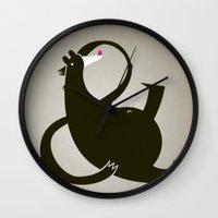 amp-bear-sand poster Wall Clock