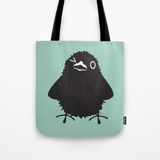 Baby Raven, Wink Tote Bag