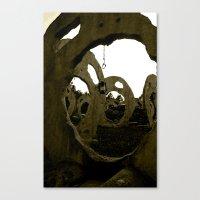 Screaming Lantern Canvas Print
