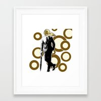 Gentlemen, We got a dead one here.. Framed Art Print