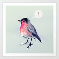 Robin Gettin An Epiphany Art Print