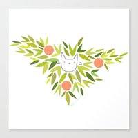 Clementine Cat Canvas Print