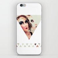 Emilie iPhone & iPod Skin