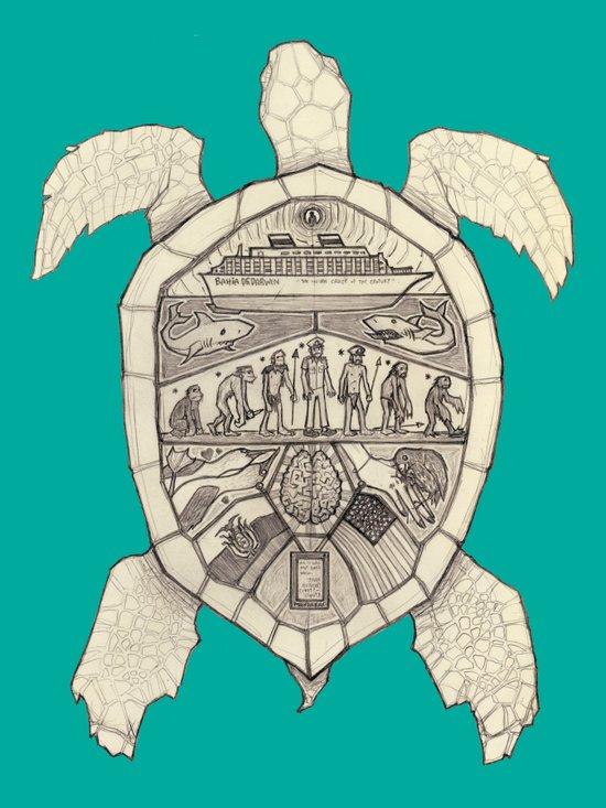 Galápagos Art Print