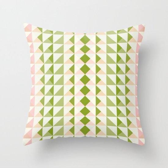 Pastel Love Throw Pillow