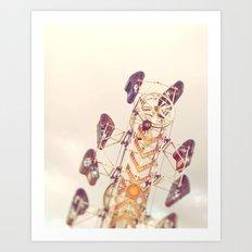 Zipper Art Print
