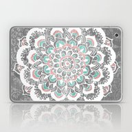 Laptop & iPad Skin featuring Pastel Floral Medallion … by Tangerine-Tane