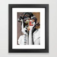 Crazy Woman - LisaLaraMix Framed Art Print