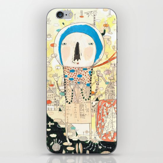 """My life is my message.""  iPhone & iPod Skin"