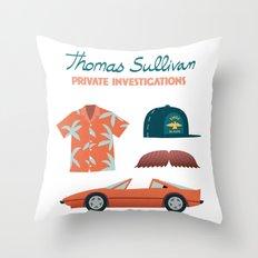 Thomas the Hawaiian PI 02  Throw Pillow