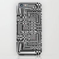 iPhone & iPod Case featuring Pixel Shadow by athomahawk