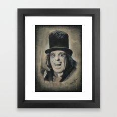 Professor Edward C. Burke Framed Art Print