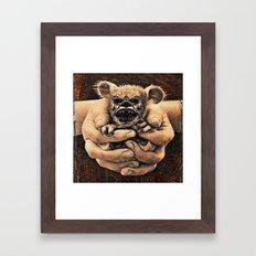 Carnivorous Framed Art Print