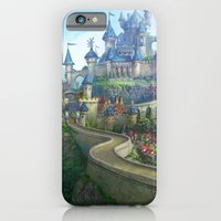iPhone & iPod Case featuring epic fantasy castle  by Tyler Edlin Art