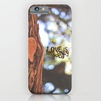 Love Is The Only Gold iPhone 6 Slim Case