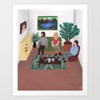The Callgirl Art Print