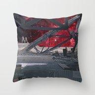 SPACE DEVASTATION Throw Pillow