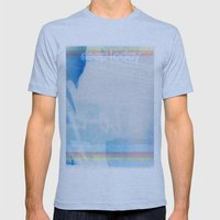 Our Evil is Good, Our Evil is Strong Mens Fitted Tee Athletic Blue SMALL
