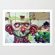 XA NOBLE Art Print
