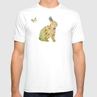 Zinnias En Masse With Vi… Mens Fitted Tee White SMALL