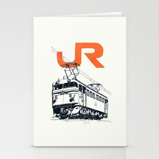 On Paper: JR EF65-100 Stationery Card